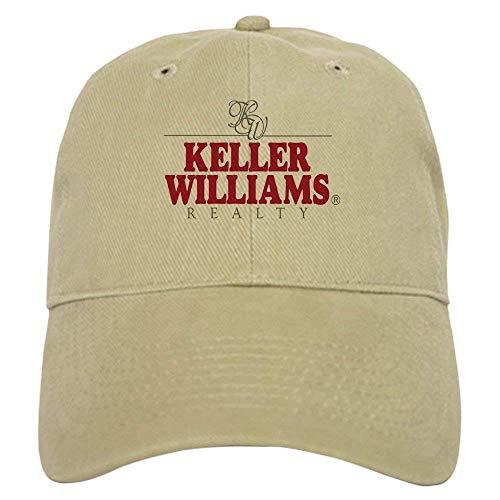 Uliykon Keller Williams Realty Gorra de béisbol con ajustable único impreso gorra de béisbol para hombres y mujeres