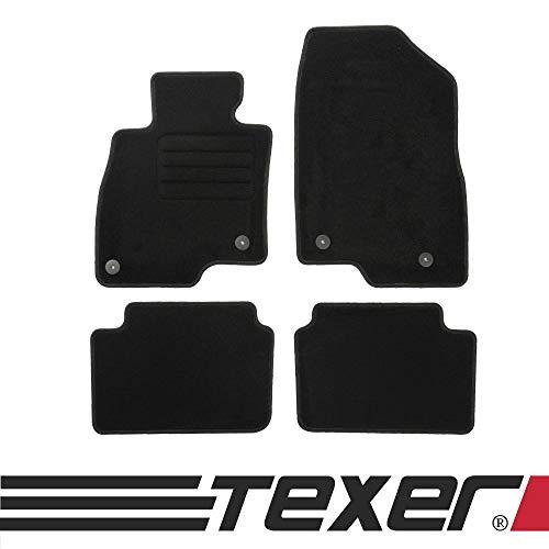 CARMAT TEXER Textil Fußmatten Passend für Mazda 3 III Bj. 2013- Basic