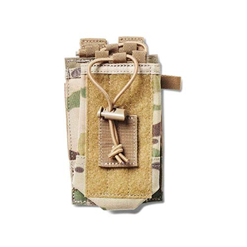 5.11 Radio Pouch Compatible with 5.11 Bags/Packs/Duffels, Style 56388, MultiCam