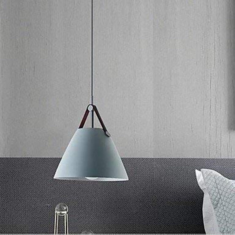 YAYONG Moderne Moderne Pendant Lampe für Schlafzimmer-Office-Shops und Cafes Chandelier,Blau