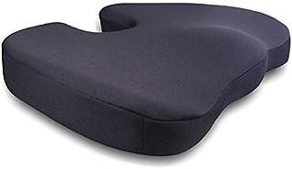 West Coast Auto Memory Foam Seat Cushion Pillow Orthopedic Design to Relieve Back Tailbone and Sciatica Pain