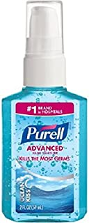 Purell Advanced Hand Sanitizer, Pump, Ocean Kiss 2 fl oz