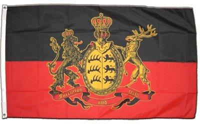 Flagge Deutschland Württemberg - 90 x 150 cm [Misc.]