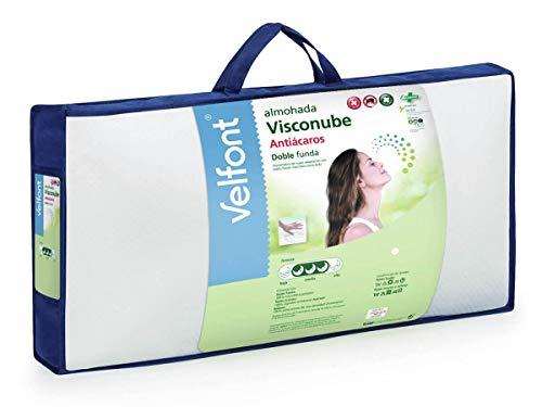 Velfont - Almohada Visconube - 135, Blanco