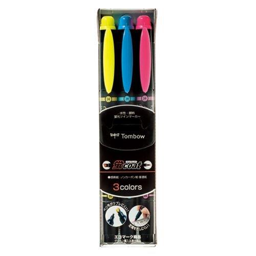 トンボ鉛筆 蛍光マーカー蛍COAT 3C WA-TC 3C 00034010【まとめ買い10個セット】