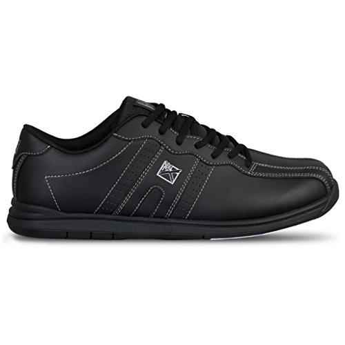 KR Unisex Mens Bowling Shoes Black Strikeforce Herren O.P.P Bowlingschuhe schwarz, 43 EU