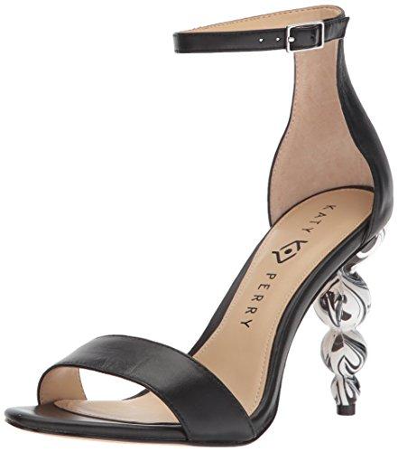 Katy Perry Women's The Tabitha Heeled Sandal black 9.5 Medium US