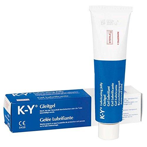 K-Y KY-GLEITGEL Medizinische Gleitmittel, Steril, 82 g