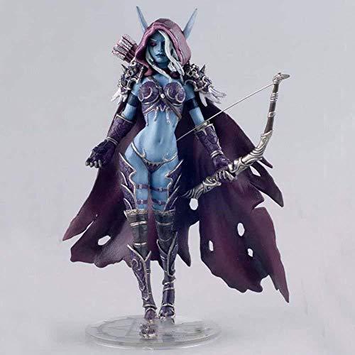 World of Warcraft Darkness Ranger Lady Sylvanas Windrunner 7 Figura de acción de Resina Colección Modelo Wow