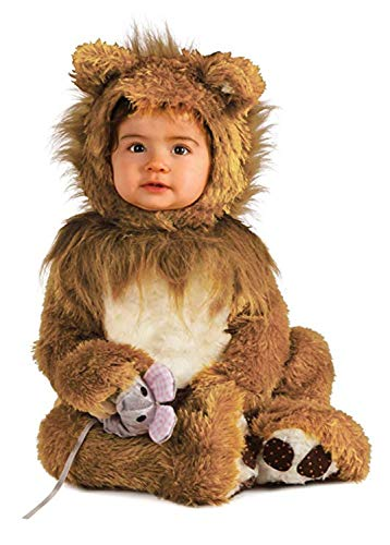 Rubie's Infant Noah Ark Lion Cub Romper, Brown/Beige, 6-12 Months