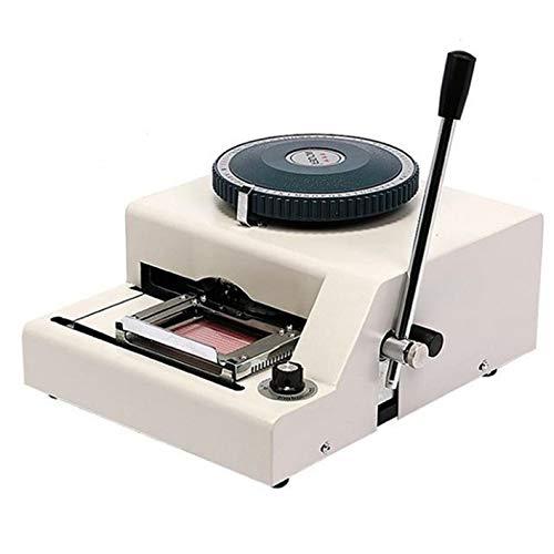 Huanyu WSDM-68C PVC Card Embosser Manual Credit ID VIP Code Printer Embossing Letterpress Rotogravure Printing Machine