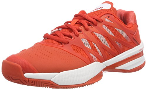 K-Swiss Performance Damen ULTRASHOT Tennisschuhe, Rot (Fiesta/White 01), 40 EU