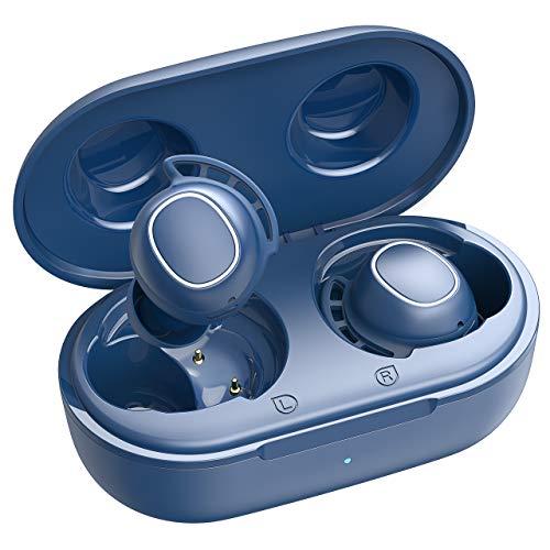 Mpow M30 Bluetooth Kopfhörer In Ear, Kabellose Kopfhörer mit Soliden Bass-Sound, IPX7 Wasserdicht Sport-Kopfhörer, Touch Sensoren/ 25 Std. Spielzeit/USB-C-Ladebox/Bluetooth 5.0