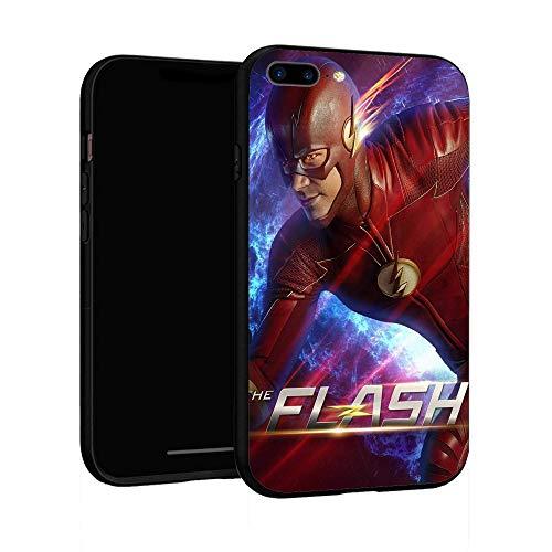 Funda para iPhone 7 Plus Funda 8 Plus, Funda básica de plástico para iPhone 7Plus / 8Plus (Flash Man-3)