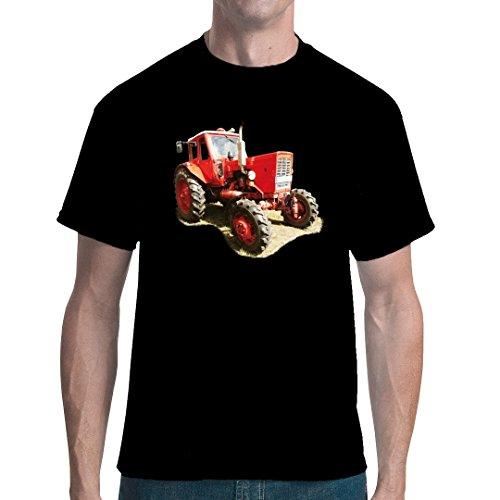 Im-Shirt Traktoren Unisex T Traktor Belarus MTS 50 by Schwarz L