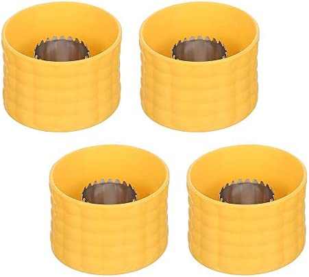 4 Pieces Cob Corn Stripper Corn Stripping Tool Manual Corn Threshing for Removing Kernels from product image