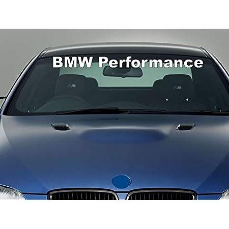 Hochwertiger Bmw Performance Aufkleber Sticker Decal 90 Cm Frontscheibe Heckscheibe Die Cut M3 M5 M6 Sport