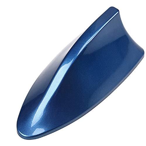 VOSAREA Auto Coche SUV Antena de Techo de Estilo de Aleta de tiburón Antena FM Señal de Radio para Nissan Qashqai Skoda Octavia (Azul)