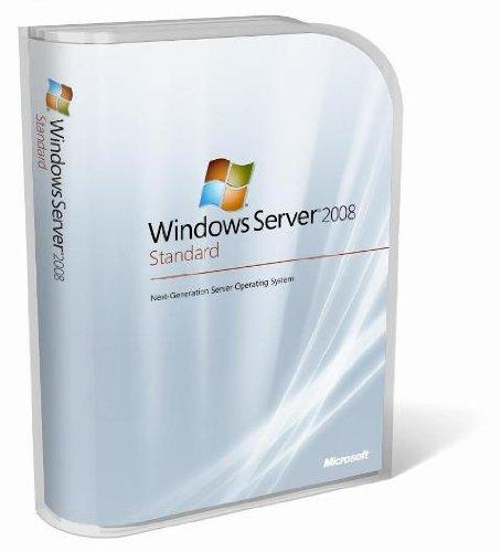 Preisvergleich Produktbild Systembuilder Windows Server Standard 2008 R2 SP1 64Bit x64 1pk DSP OEI DVD 1-4CPU 5 Clt