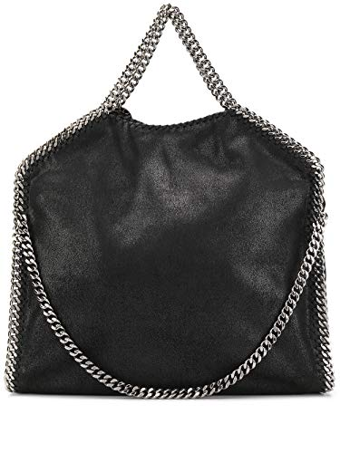Stella McCartney Borsa Shopping Donna 234387W91321000 Poliestere Nero