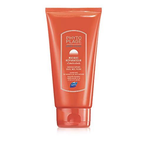 PHYTO PHYTOPLAGE Maschera riparatrice nutriente per capelli esposti al sole - Dopo sole - Capelli rovinati - Senza siliconi - 125ml