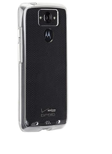 Case-Mate Carrying Case for Motorola Droid Turbo (1st gen) - Retail Packaging - Clear/Clear