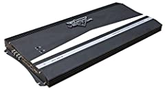 3000W RMS / 6000W MAX POWER: The Lanzar 6000 watt 2 channel high power MOSFET amplifier is perfect for your car stereo entertainment system. It can give 3000W x 2 output at 4 ohms or 6000W x 1 bridged output at 2 ohms for a high quality audio FULL RA...