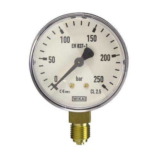 Manometer, NG63, 0-250 bar - WIKA 111.10 - 9013768