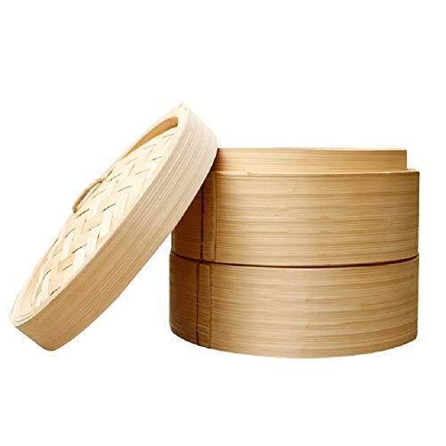 ZJZ Bollos al Vapor al Vapor de bambú Albóndigas al Vapor Albóndigas al Vapor Albóndigas al Vapor Albóndigas al Vapor, beige-30cm
