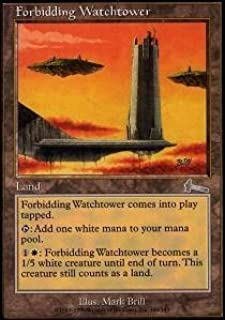 Magic: the Gathering - Forbidding Watchtower - Urza's Legacy - Foil