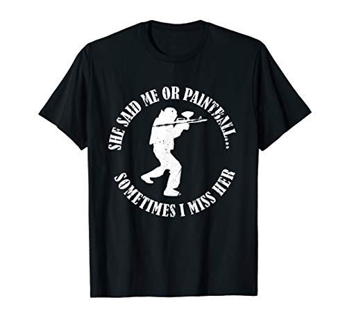 Me Or Paintball Lustiges Paintball Shirt Geschenk Hobby