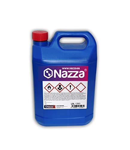 Disolvente Multiusos Nazza | Ideal para la limpieza de resinas y herramientas | 5 Litros Env. Plástico