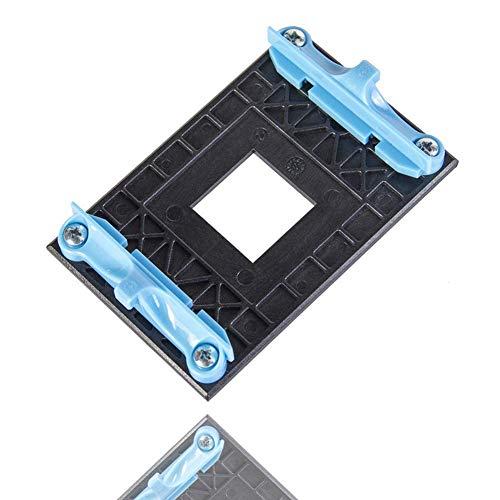 NMD&LR Placa Posterior De La CPU, Placa Posterior De Plástico para Ventilador De Radiador De Estante Inferior Adecuado para Soporte AM4 AMD Placa Base B350 X370 A320