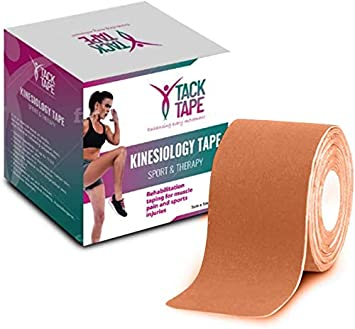 Gymnastics Therapeutic Athletic Sports Tape Tack Tape Kinesiology Tape Injury Wrist No Sticky Residue /& Easy to Tear for Muscle Water Resistant Ankle Hypoallergenic Shoulder Knee