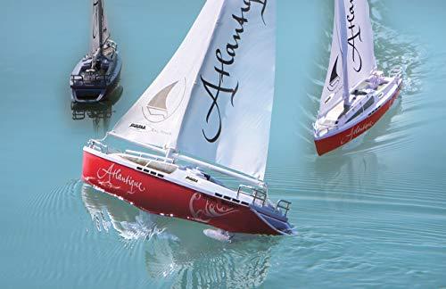 Jamara, 040250 - Barca a vela con 2 motori e radiocomando, 38 cm