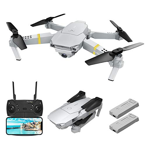 Drone with Camera 1080p, EACHINE E58 Pro WiFi FPV Drone with 1080P HD Camera for Adults 120° FOV RC Drone Quadcopter with Camera Foldable Easy Drone for Beginner