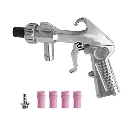 Lixiaonmkop Handheld pneumatischer Anti-Rost-Sandstrahlschutz-Sand-Schwerkraft-Sandstrahlpistole -Luft-Sandblaster-Werkzeuge (Color : B)