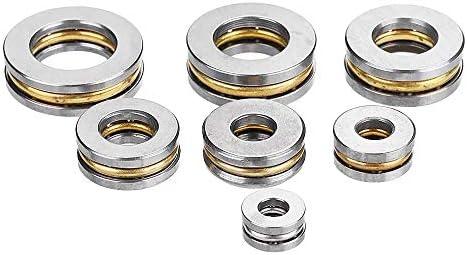 5pcs Flat stuwkracht kogellager ID2534678 mm Mini miniatuurlagers F256 F38 F4108mm SizeF38M