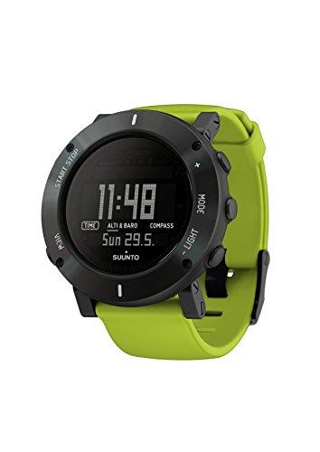 Suunto Herren-Armbanduhr Armband Kautschuk Gehäuse Edelstahl Batterie Digital SS020693000