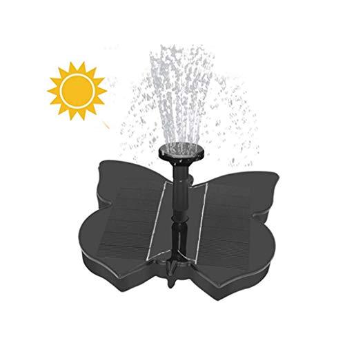 Writtian Solar Teichpumpe 1.5W Solar Teichfontäne Solar Pumpen,Springbrunnen Wasserspiel mit Außenwasserfunktion für Vogelbad, Gartenbrunnen,kleine Teich- und Wasserzirkulation,7 Sprühköpfe inklusive