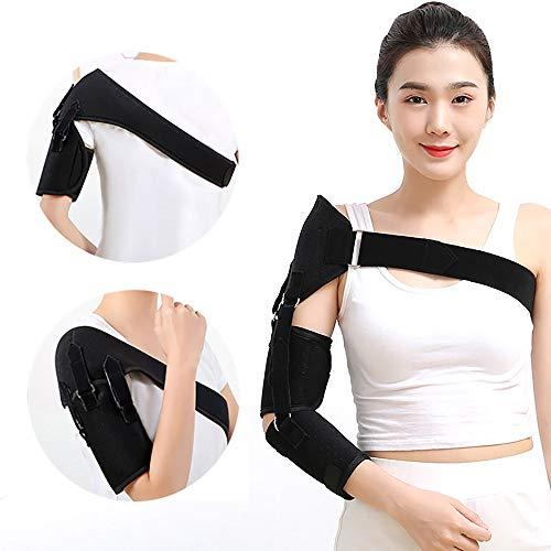 Zscdc Verstellbare Schulterbandage, Neopren Schulterstütze, Schulter Schulterschmerzen Unterstützung Bandage, für Unterstützend am Schultergelenk, Verletzungsprävention und Genesung