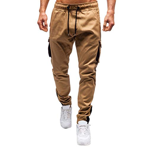 Pantalones Beige  marca Vicbovo Clearance
