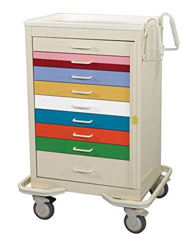 Mpd Products 9 Drawer Solid Crash-Cart-9-Multi Cart Crash 40% OFF Cheap Sale Special sale item Color