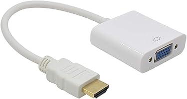 Alfais AL4547 HDMI to VGA Monitör Çevirici Dönüşütürücü Adaptör