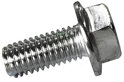 M8x18mm linksgewinde Sicherungsschrauben Konterschrauben mit Flansch