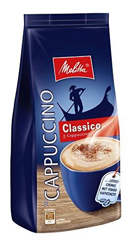 Melitta Cappuccino, koffeinhaltiges Getränkepulver, feiner Schokoladengeschmack, cremig, Cappuccino Choco, 400g Beutel