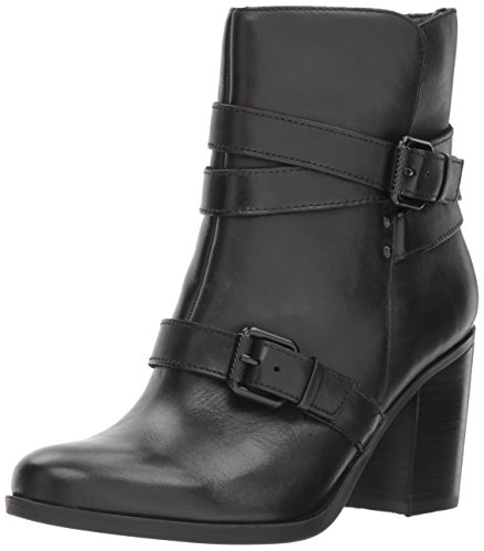 Naturalizer Women's Karlie Harness Boot, Black, 6 W US