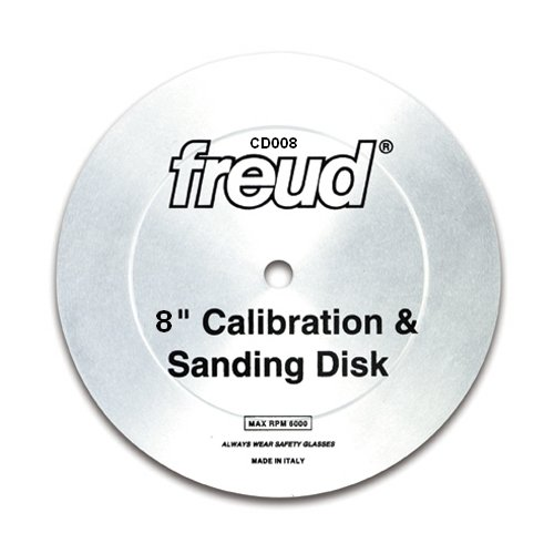Freud CD008 8' Calibration & Sanding Disk With 5/8' Arbor