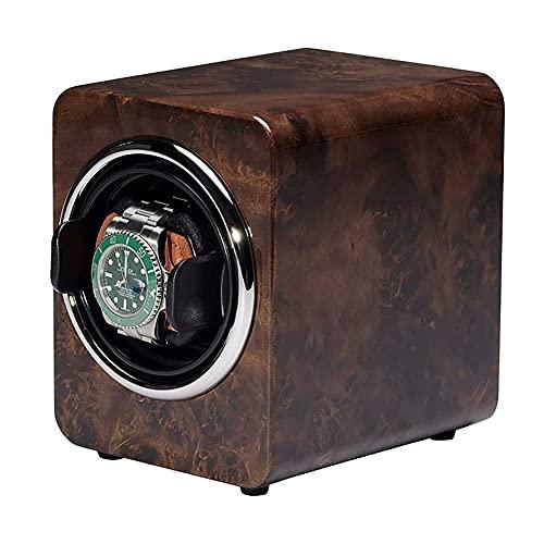 UOOD Reloj Bayes Watch Winder Bander Caja giratoria Caja de autoinviaguena Caja de bobinado Caja de regalo de la caja de bobinado, motor silencioso en casa Turn Gire Witch Dispositivo de reloj tranqui