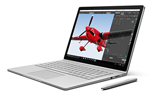 "Microsoft Surface Book CR9-00001 Laptop (Windows 10, Intel Core i5, 13.5"" LCD Screen, Storage: 128 GB, RAM: 8 GB) silver"